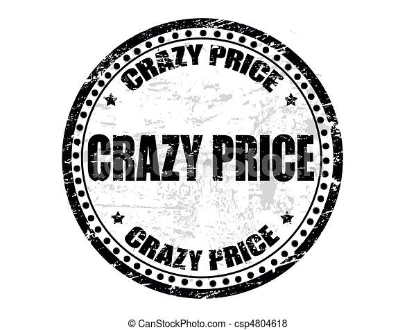 crazy price stamp - csp4804618