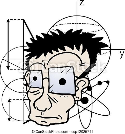 Crazy scientific - csp12025711