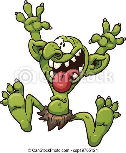crazy troll crazy cartoon troll vector clip art vector rh canstockphoto com troll clip art free troll clip art in color to print for free