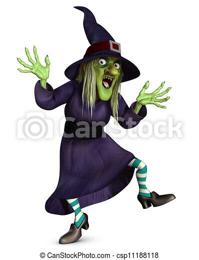 crazy witch - csp11188118