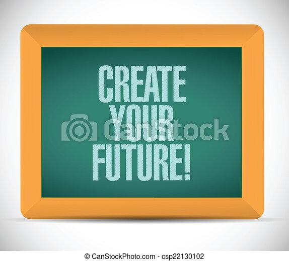 Crea tu futura ilustración de mensajes - csp22130102