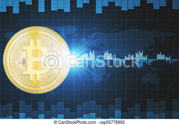Creative Bitcoin Wallpaper Creative Bit Coin Wallpaper Cryptocurrency Finance E Commerce And Payment Concept 3d