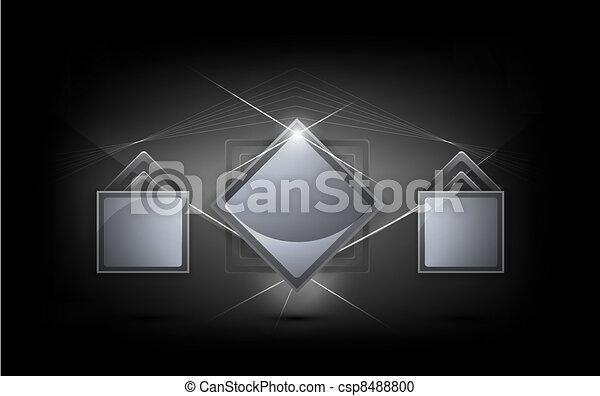 creative bright-frame background - csp8488800