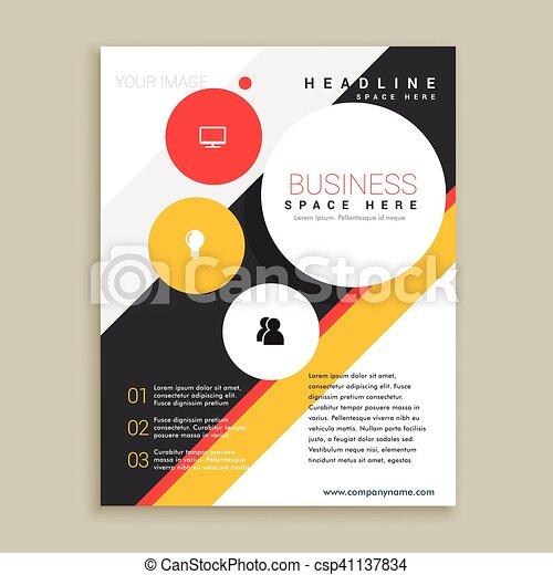 creative brochure template presentation., Template Presentation Brochure, Presentation templates