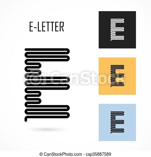Creative e letter icon abstract logo design vector template creative e letter icon abstract logo design vector templateeative e alphabet vector design spiritdancerdesigns Gallery
