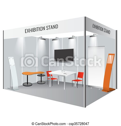 Exhibition Stand Roll Up : Creative exhibition stand design booth template corporate