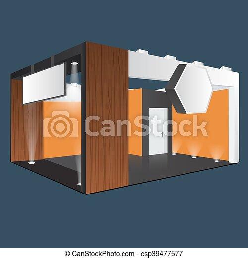 Creative Exhibition Stand Design : Creative exhibition stand design booth template corporate
