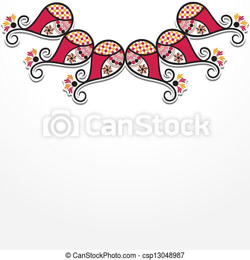 creative flora design  - csp13048987