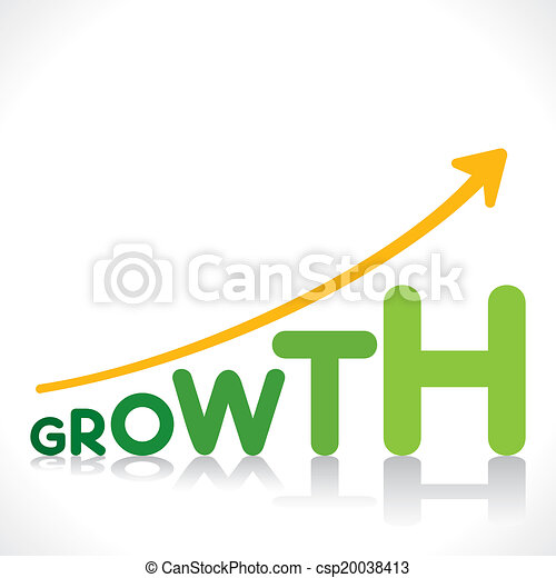 creative growth graph - csp20038413