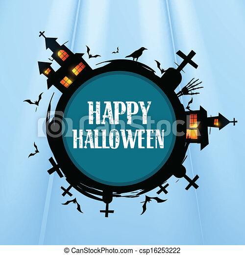 creative halloween design - csp16253222