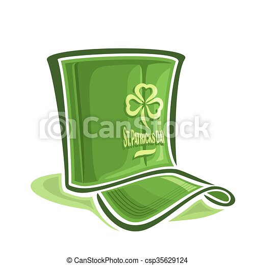 Creative hat for St. Patrick's Day - csp35629124