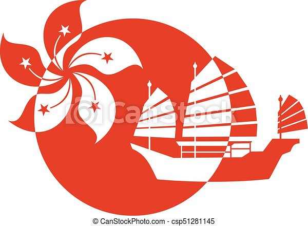 Creative Hong Kong Symbol