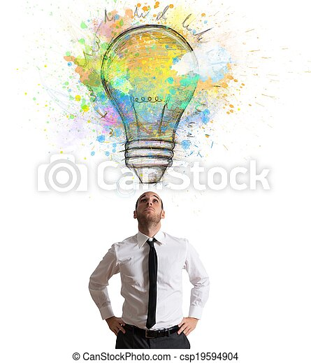 Creative idea - csp19594904