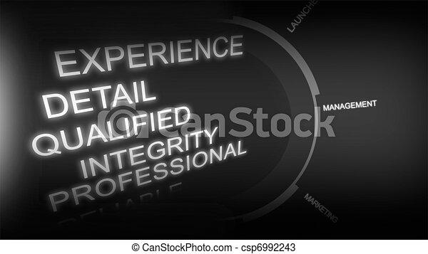 Creative image of recruitment concept - csp6992243