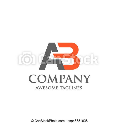 Creative letter ab logo abstract business logo design template creative letter ab logo abstract business logo design template modern letter ab logo template editable for your business friedricerecipe Choice Image
