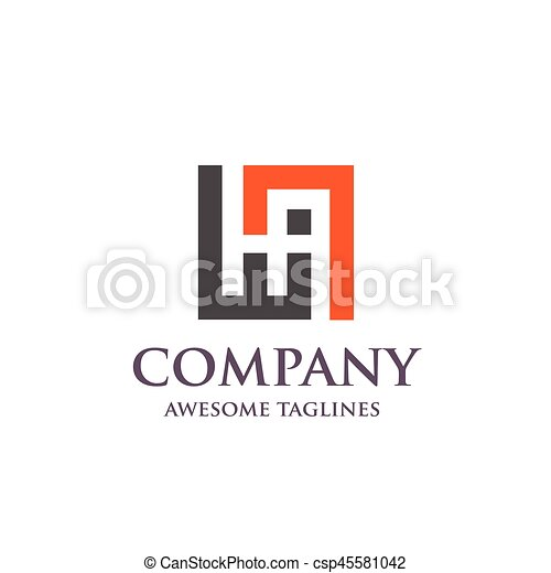 Creative letter ah logo abstract business logo design template creative letter ah logo abstract business logo design template modern letter ah logo template editable for your business friedricerecipe Choice Image
