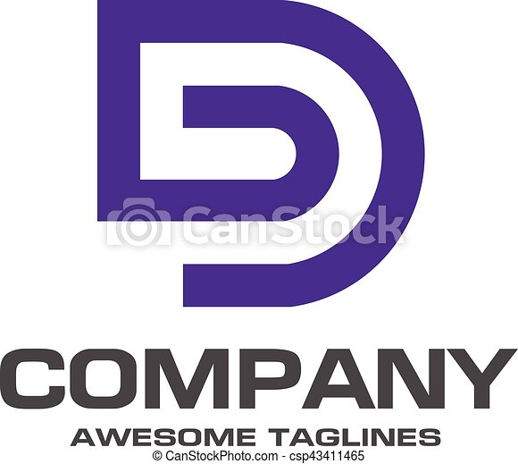 Creative letter d logo abstract business logo design clip art creative letter d logo csp43411465 thecheapjerseys Images