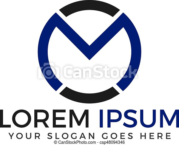 Creative Letter M Logo Design
