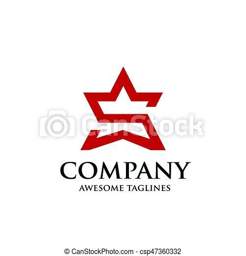 a star logo