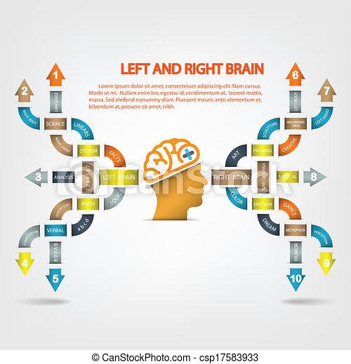 Creative light bulb Idea concept background - csp17583933