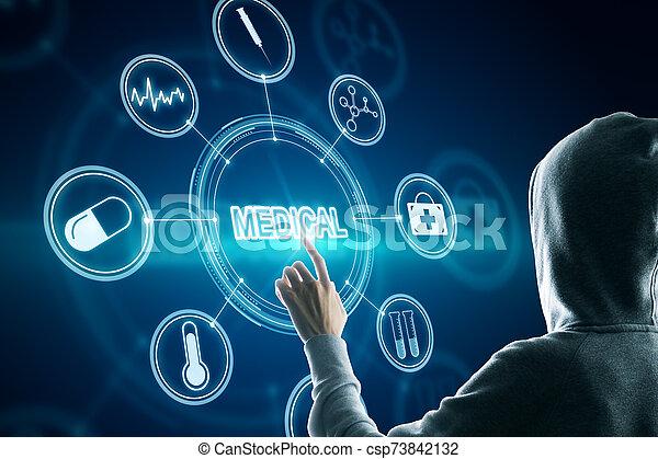 Creative medical interface - csp73842132