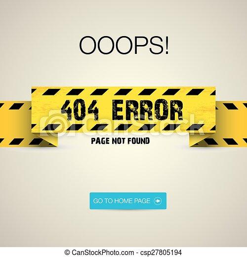 Creative page not found, 404 error - csp27805194