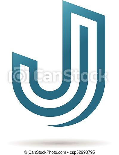 Creative Simple Letter J Logo Design