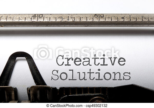 Creative solutions - csp49302132