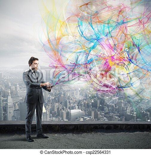 Creative technology - csp22564331