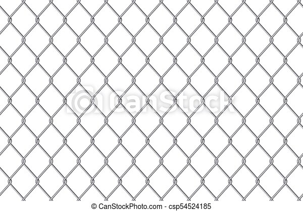 Creative vector illustration of chain link fence wire mesh vector