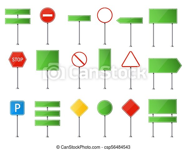 Creative vector illustration of road sign isolated on background ...