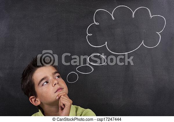 Creatividad infantil - csp17247444