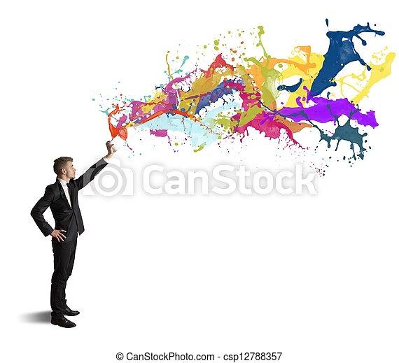 Creativity in business - csp12788357
