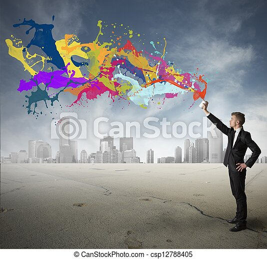 Creativity in business - csp12788405