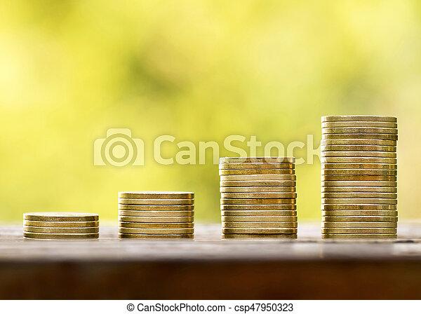 El dinero crece - csp47950323
