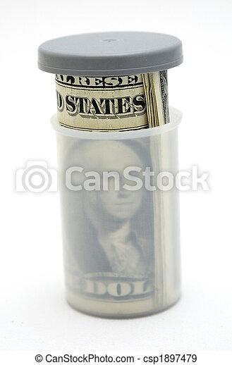 El dinero crece - csp1897479