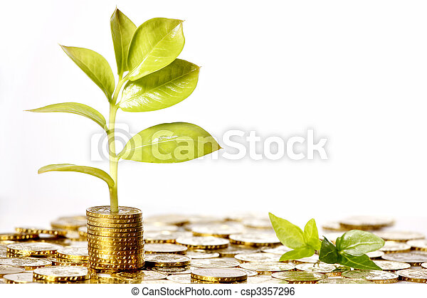 El dinero crece - csp3357296