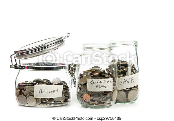 crecer, planta dinero, moneda, paso - csp29758489