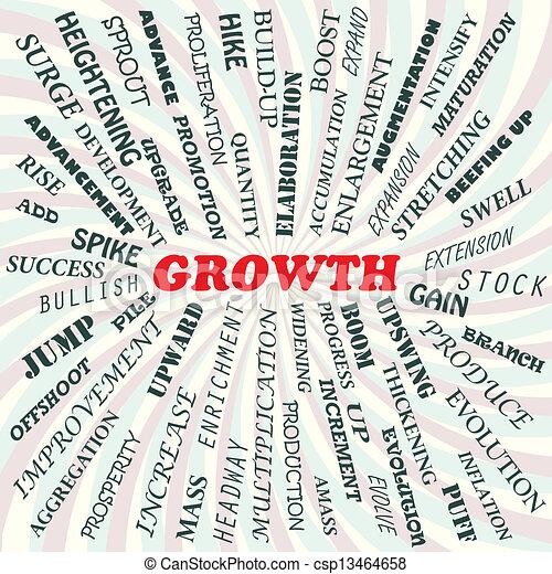 Crecimiento - csp13464658