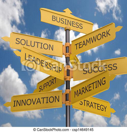 Crecimiento de negocios - csp14649145