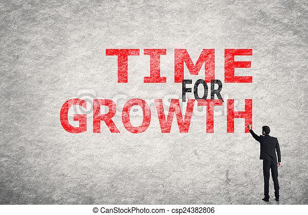 Hora de crecer - csp24382806