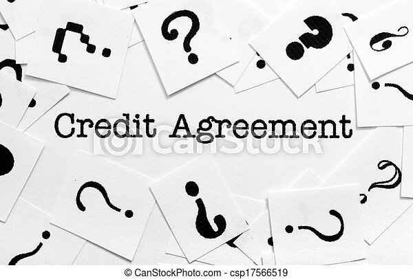 Credit Agreement Stock Photography  Search Pictures And Photo Clip