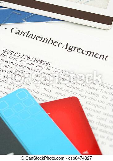 credit card agreement - csp0474327