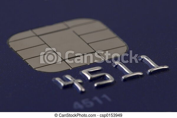Credit Card Chip - csp0153949