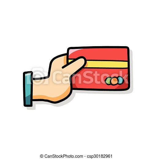 credit card doodle clip art vector search drawings and graphics rh canstockphoto co uk credit card clip art free credit card clipart png