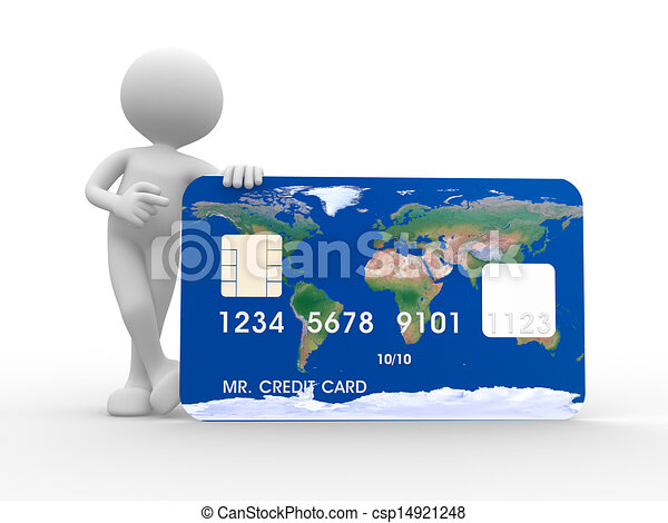 Credit card - csp14921248
