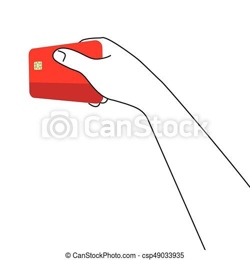 Credit card - csp49033935