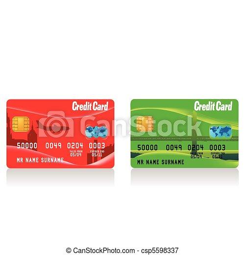 credit card - csp5598337