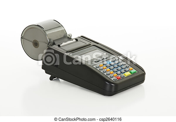 Credit Card Machine - csp2640116