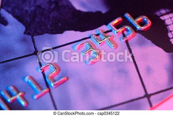 Credit Card - csp0345122